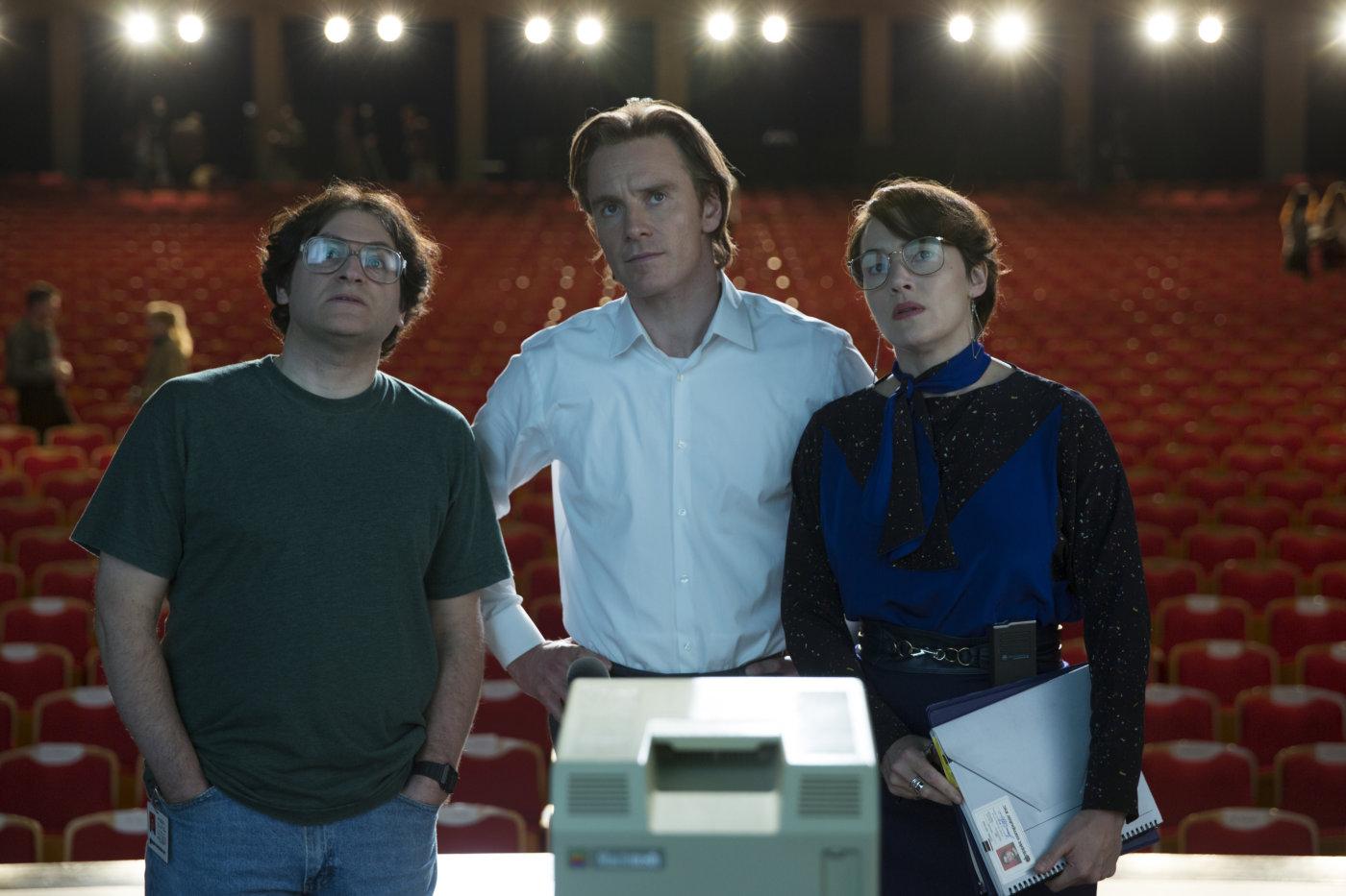 Стив Джобс (Steve Jobs, США, Великобритания, 2015) Режиссёр: Дэнни Бойл