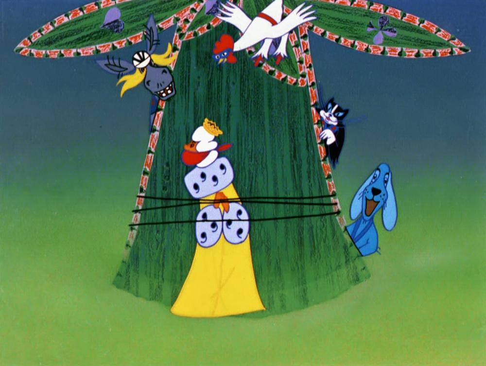 Картинки мультфильма бременские музыканты