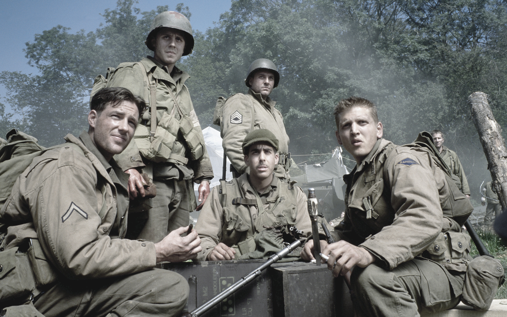 a focus on character captain john miller in the movie saving private ryan List of saving private ryan characters, with pictures when available these characters from the movie saving private ryan are ordered by their prominence in the film, so the most recognizable roles are at the top of the list.