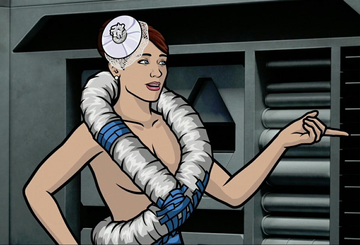 Archer lana nude pics porn fashion booty