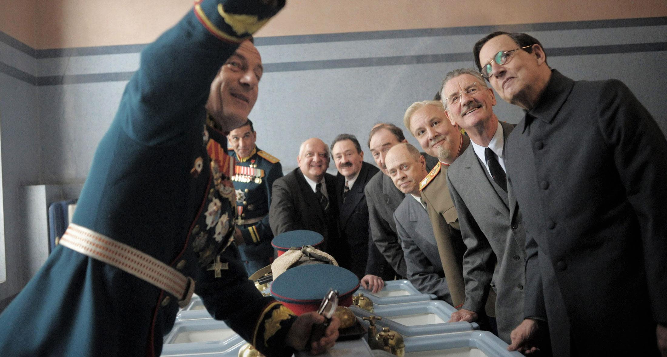 Фильм смерть Сталина - Жуков
