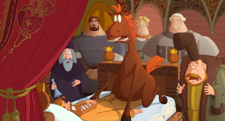 Картинка из мультика три богатыря и наследница престола