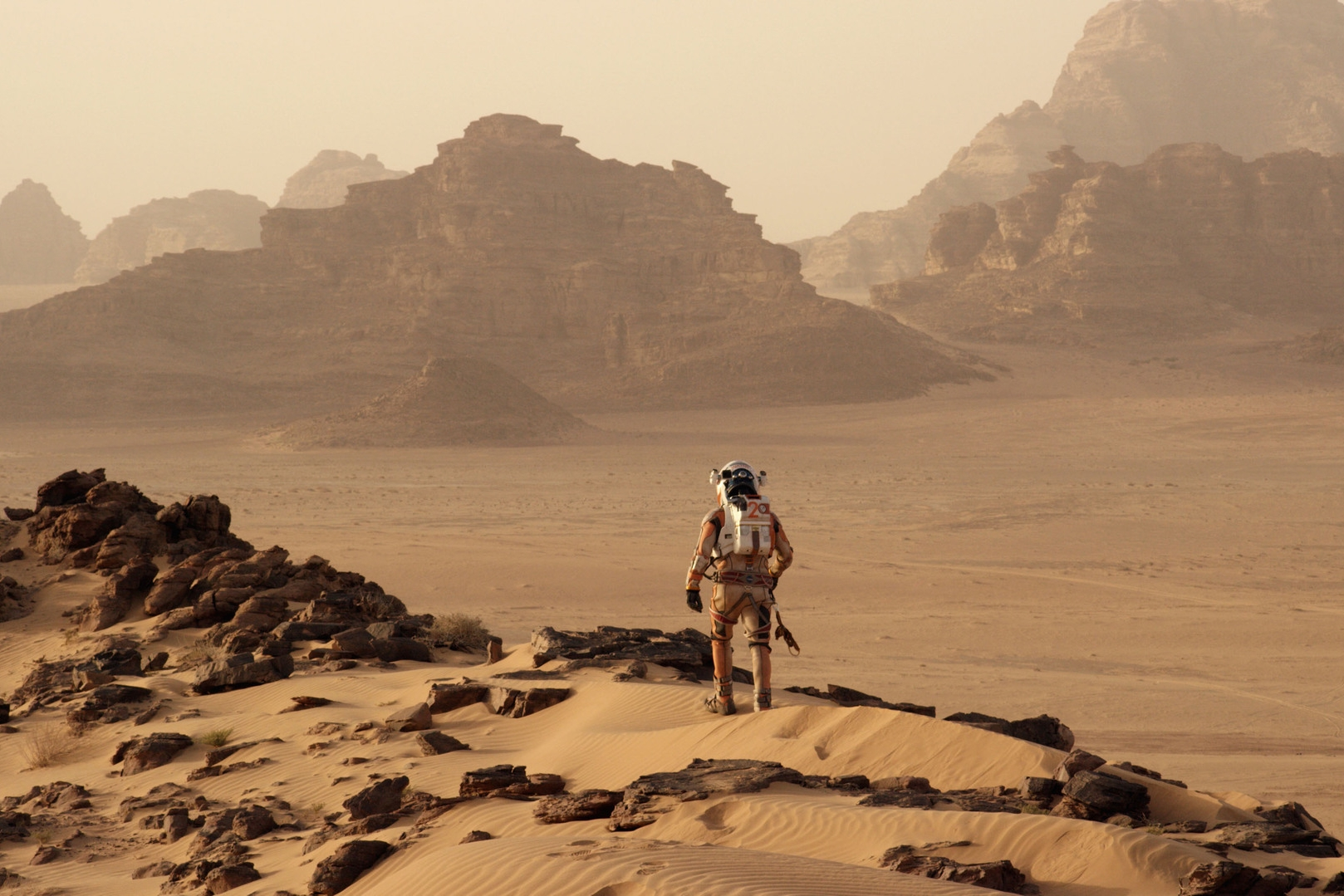 a reflection on the martian a movie by ridley scott