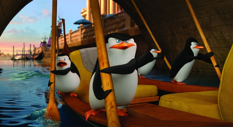 Кадр из мультфильма «Пингвины Мадагаскара»