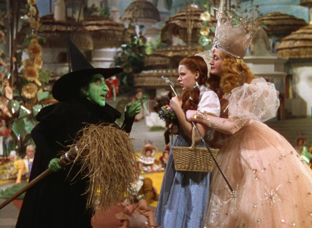 "Shot from the film ""The Wizard of Oz"""