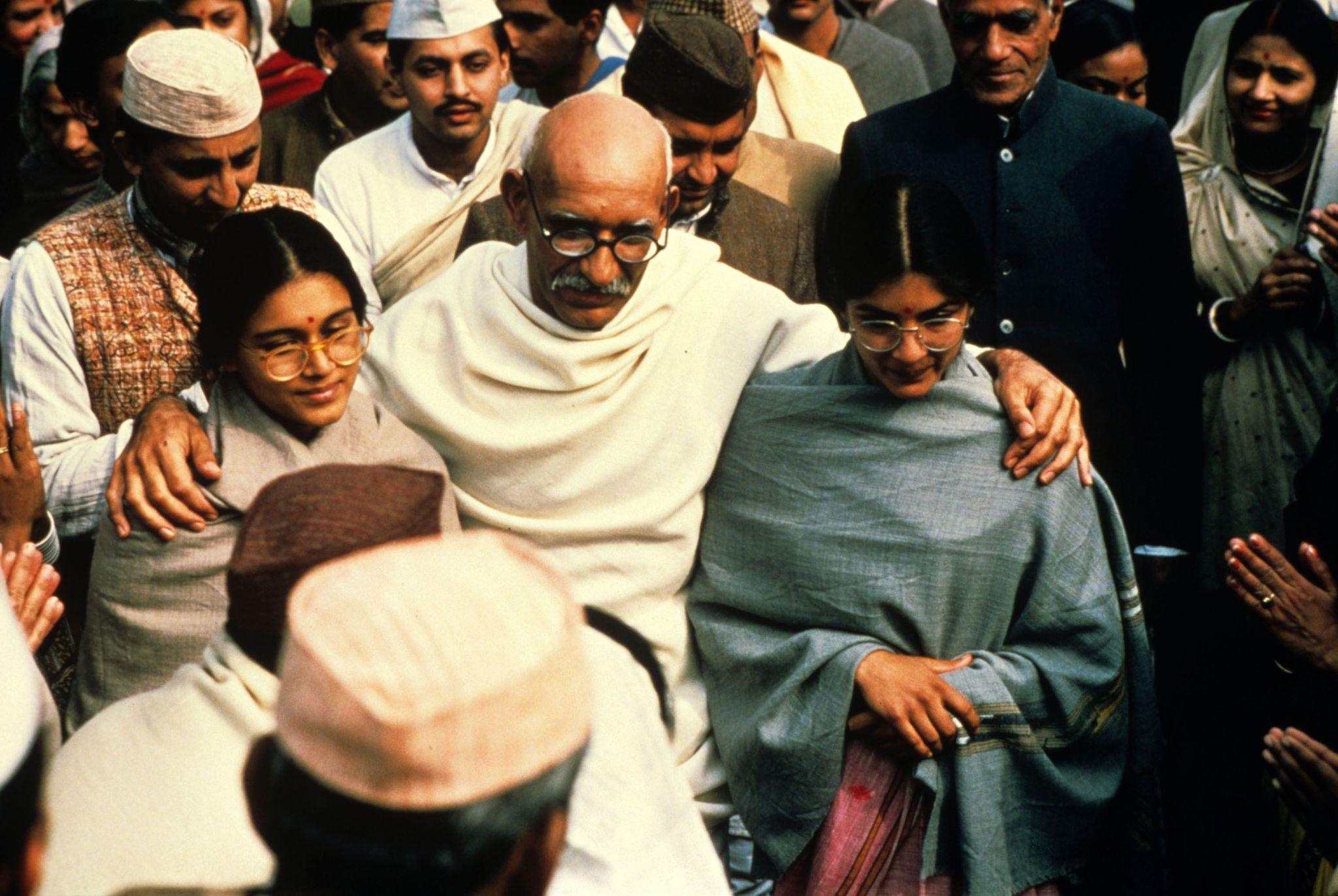 an analysis of the movie ghandi