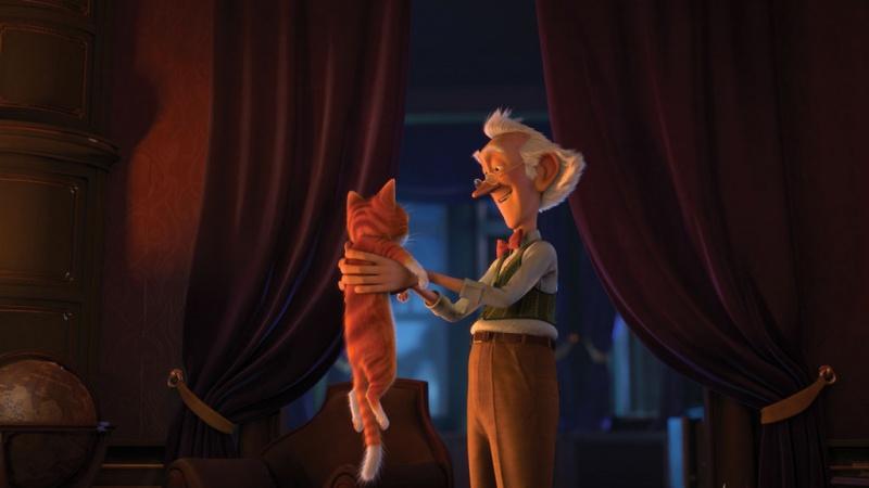 Фильма кот гром и заколдованный дом
