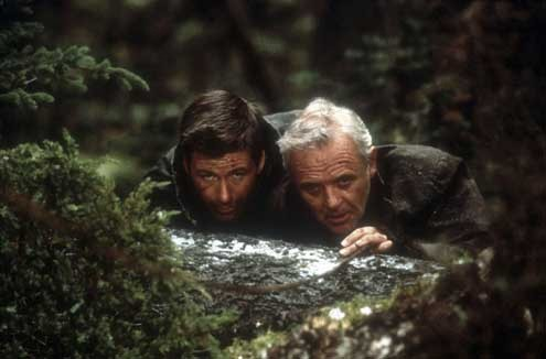 the life and work of the actor antony hopkins in the movie the edge