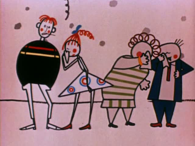"Shot from the cartoon ""Big troubles"""