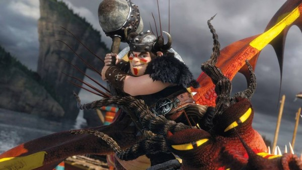 """A frame from the cartoon """"How to Train Your Dragon 2"""""""