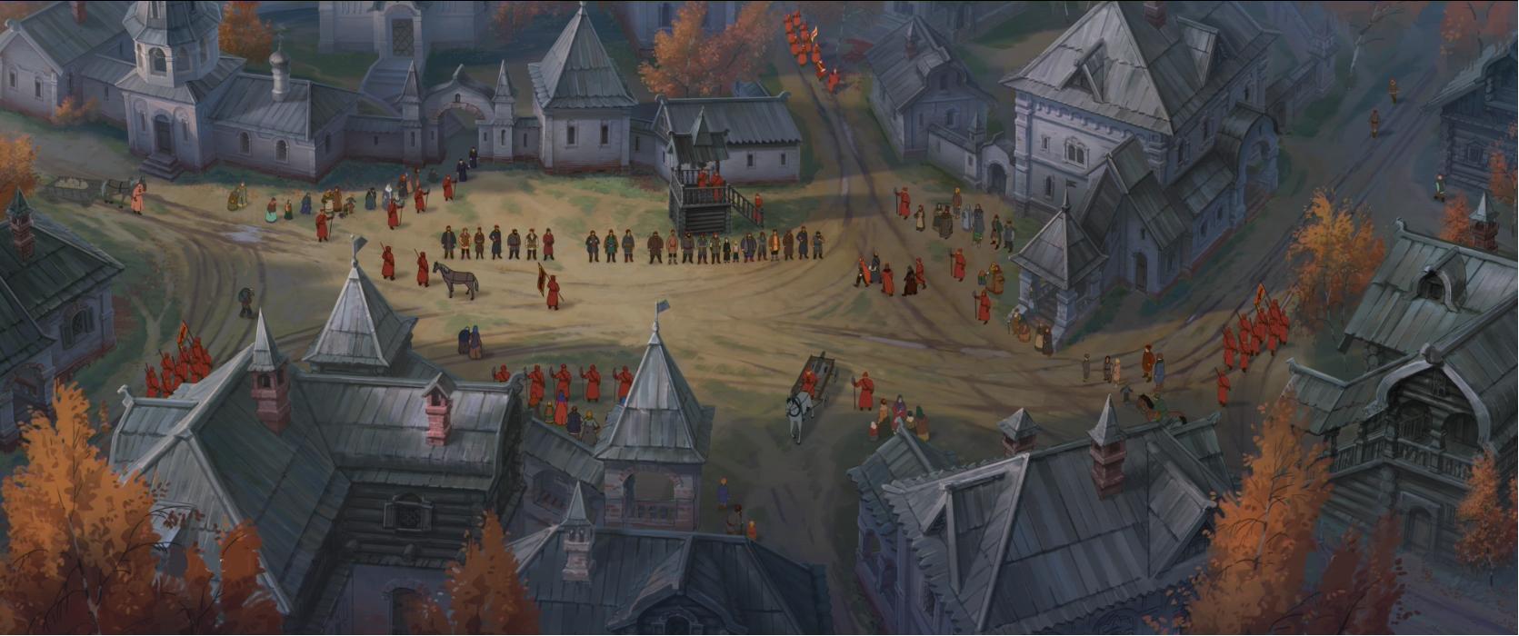 мультфильм крепость щитом и мечом