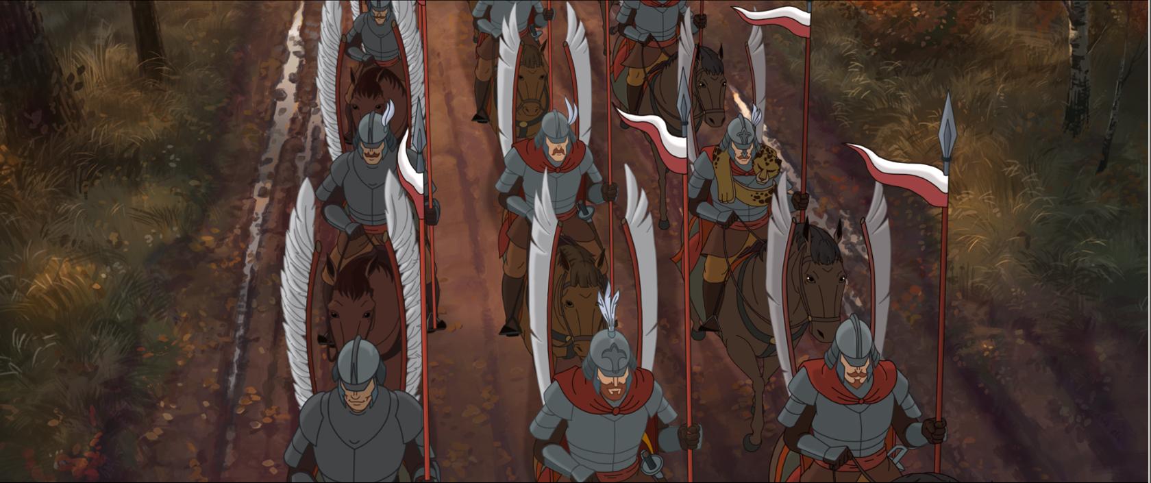 """Кадр из мультфильма """"Крепость: Щитом и мечом"""""""