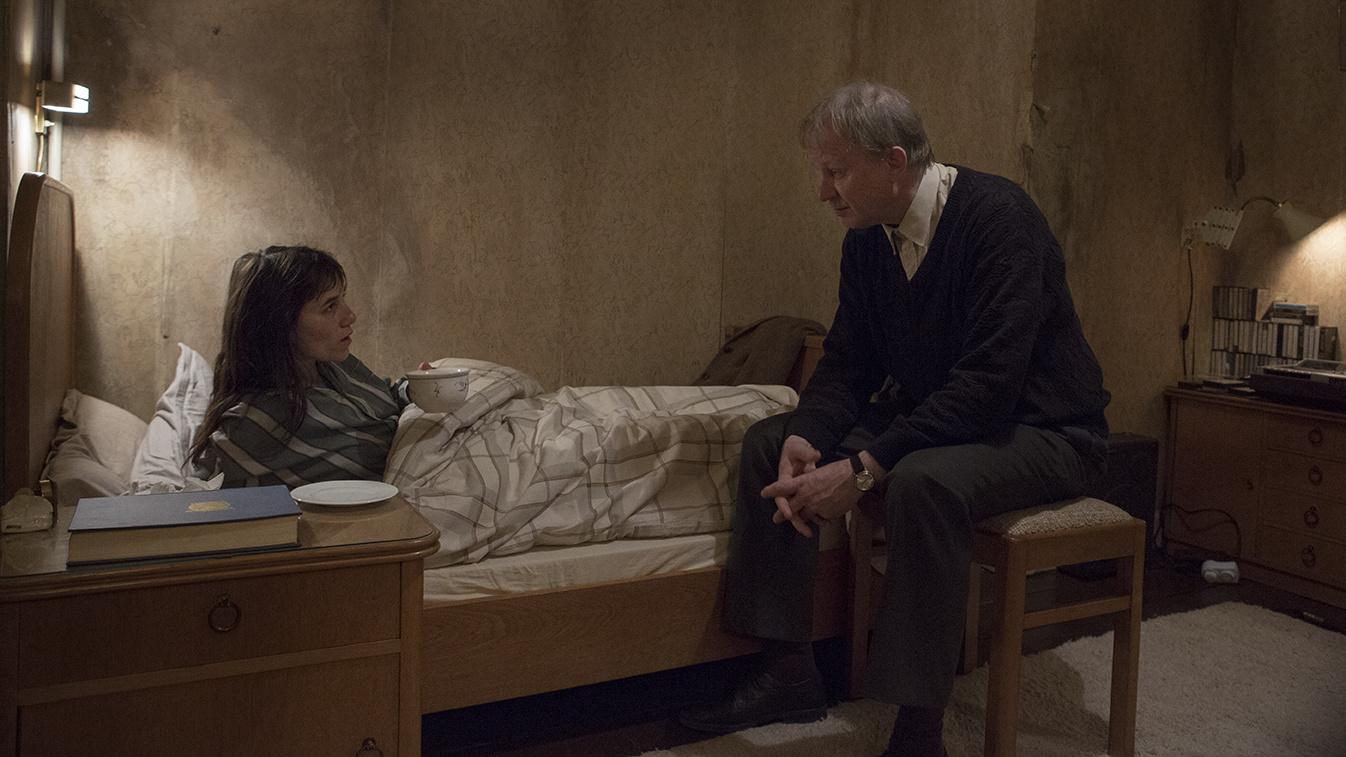 Кадр из фильма «Нимфоманка: Часть 1»
