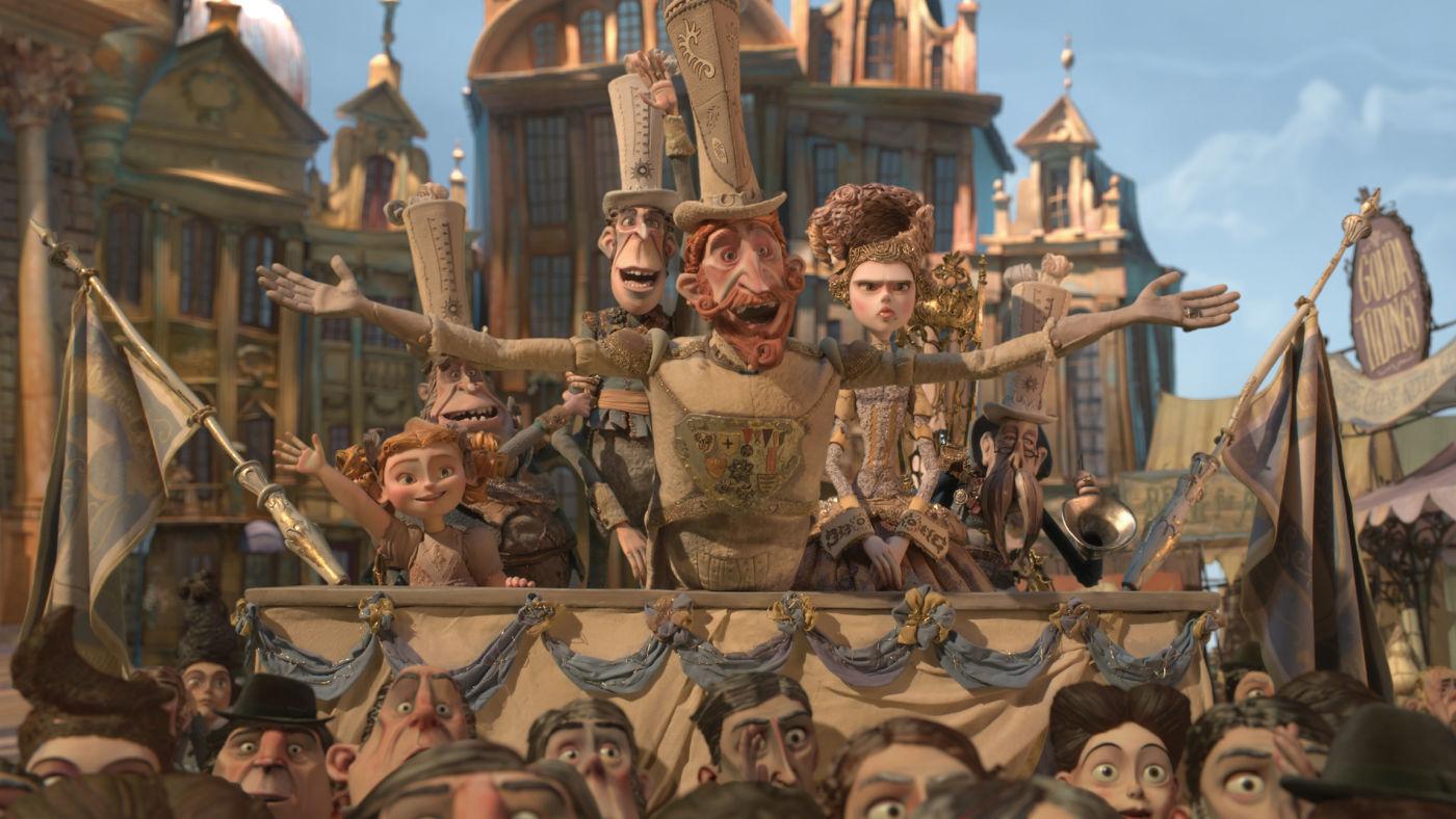 Кадр из мультфильма «Семейка монстров»