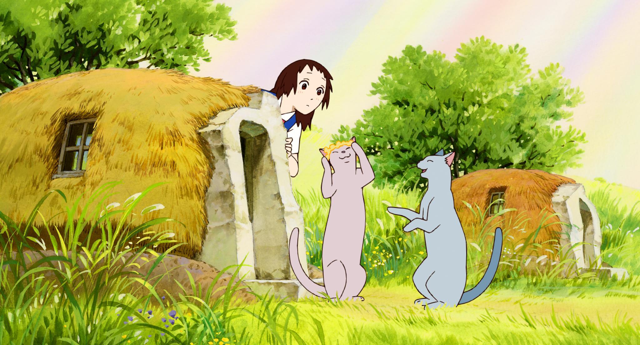 Возвращение кота смотреть онлайн хаяо миядзаки