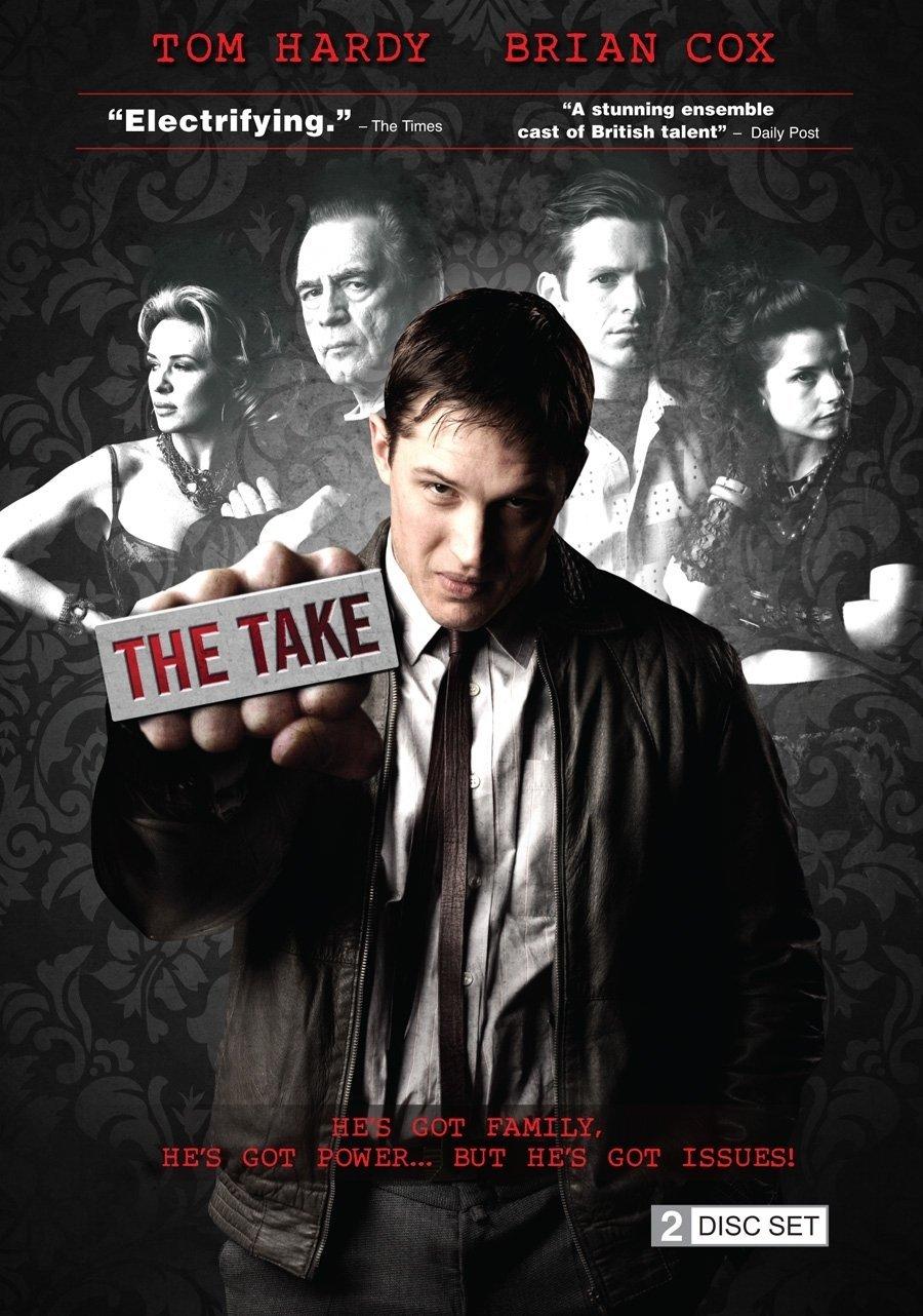 The Take : En 1984, Freddy sort de prison. Il décide avec son cousin Jimmy de s'imposer dans le milieu du crime organisé en défiant quiconque se met en travers de son chemin. Depuis sa cellule de prison, Ozzy, un chef mafieux, les manipulent sans scrupule et grâce à lui, les deux cousins atteignent leur objectif, mais se retrouvent aussi à entrainer leurs femmes respectives dans une spirale violente et cauchemardesque…-----... Créée en 2009 Avec Tom Hardy, Kierston Wareing, Shaun Evans… Nationalité Britannique Genre Drame Statut Production achevée Format 60 minutes