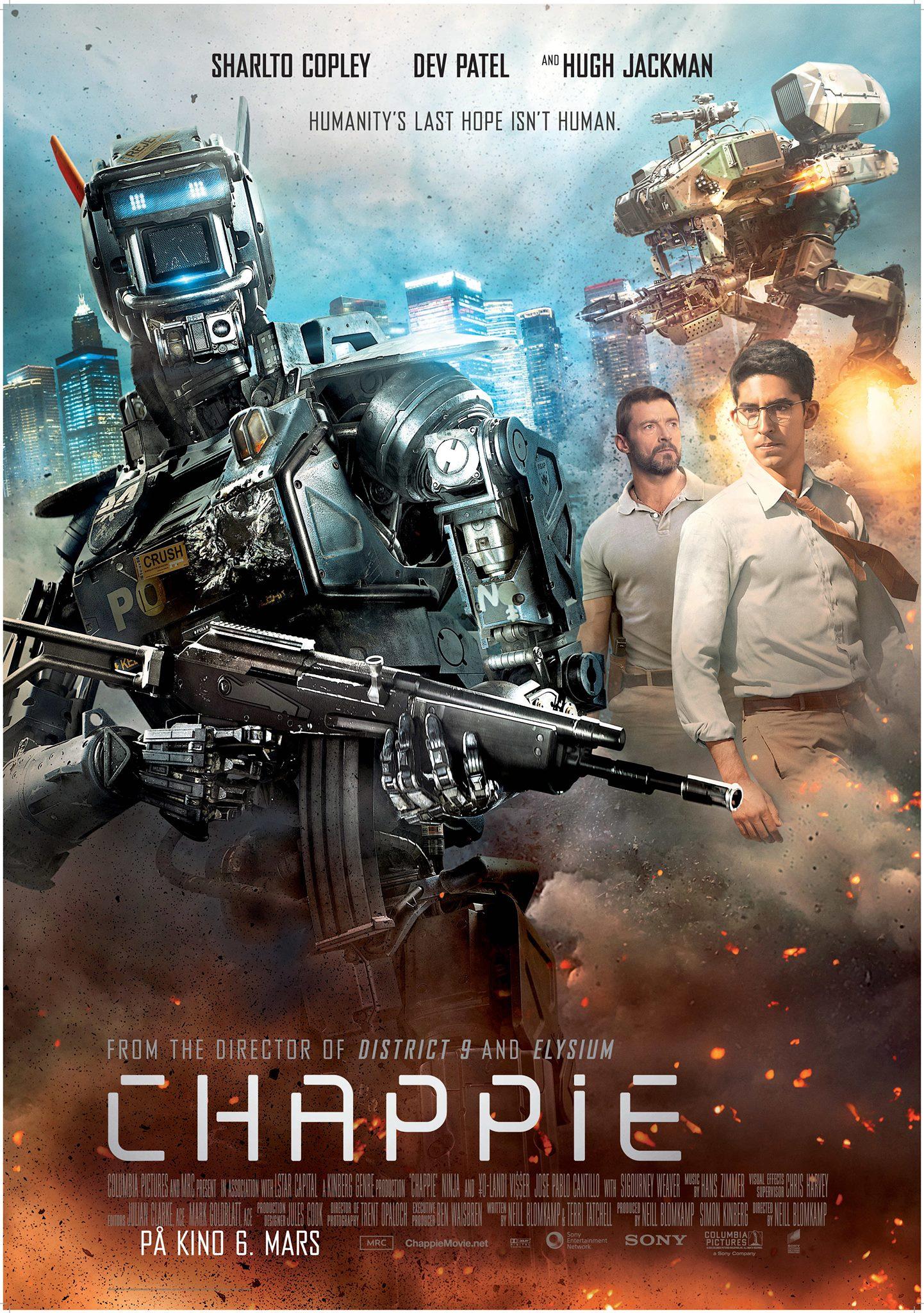 Фильмы Робот по Имени Чаппи