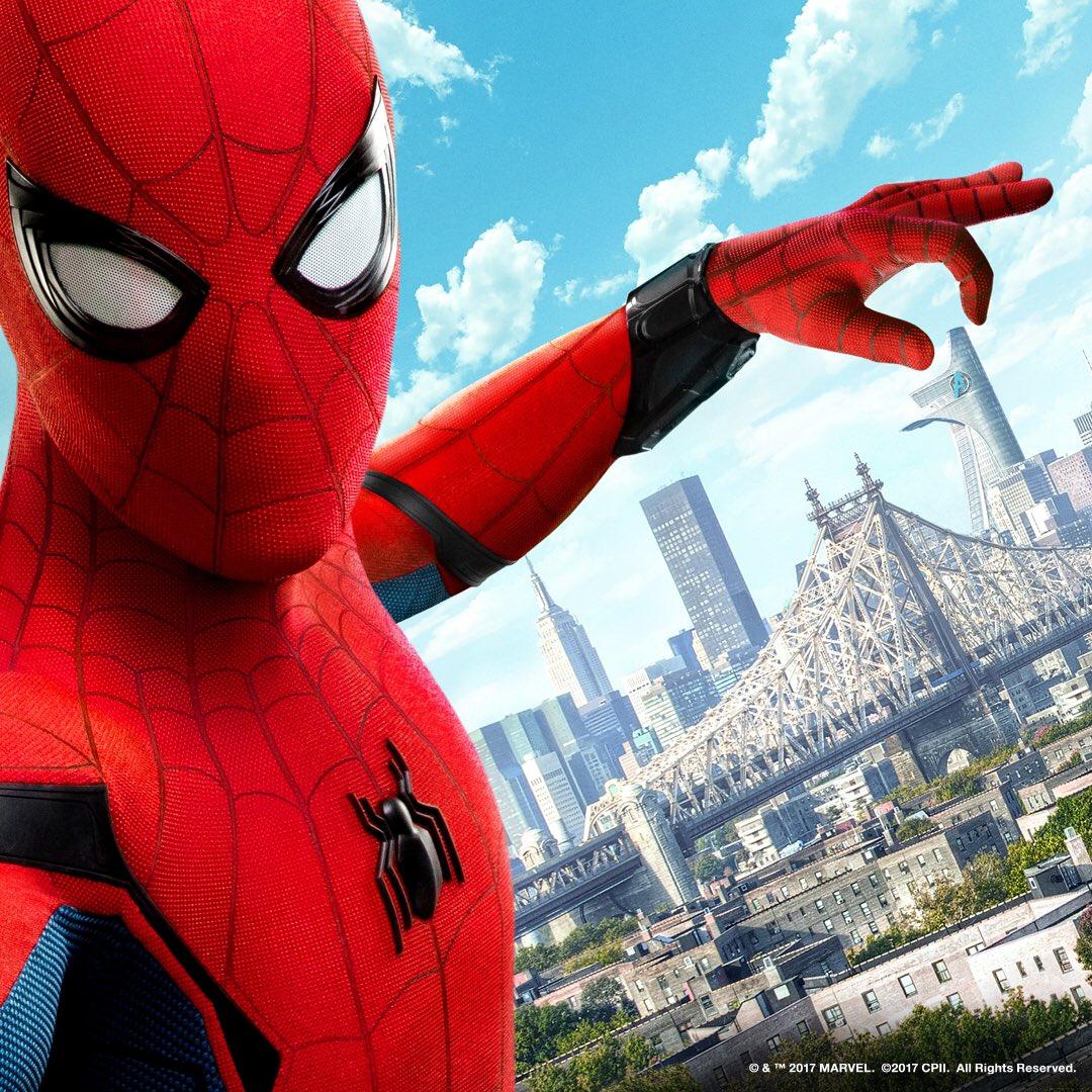 New spider man movie poster