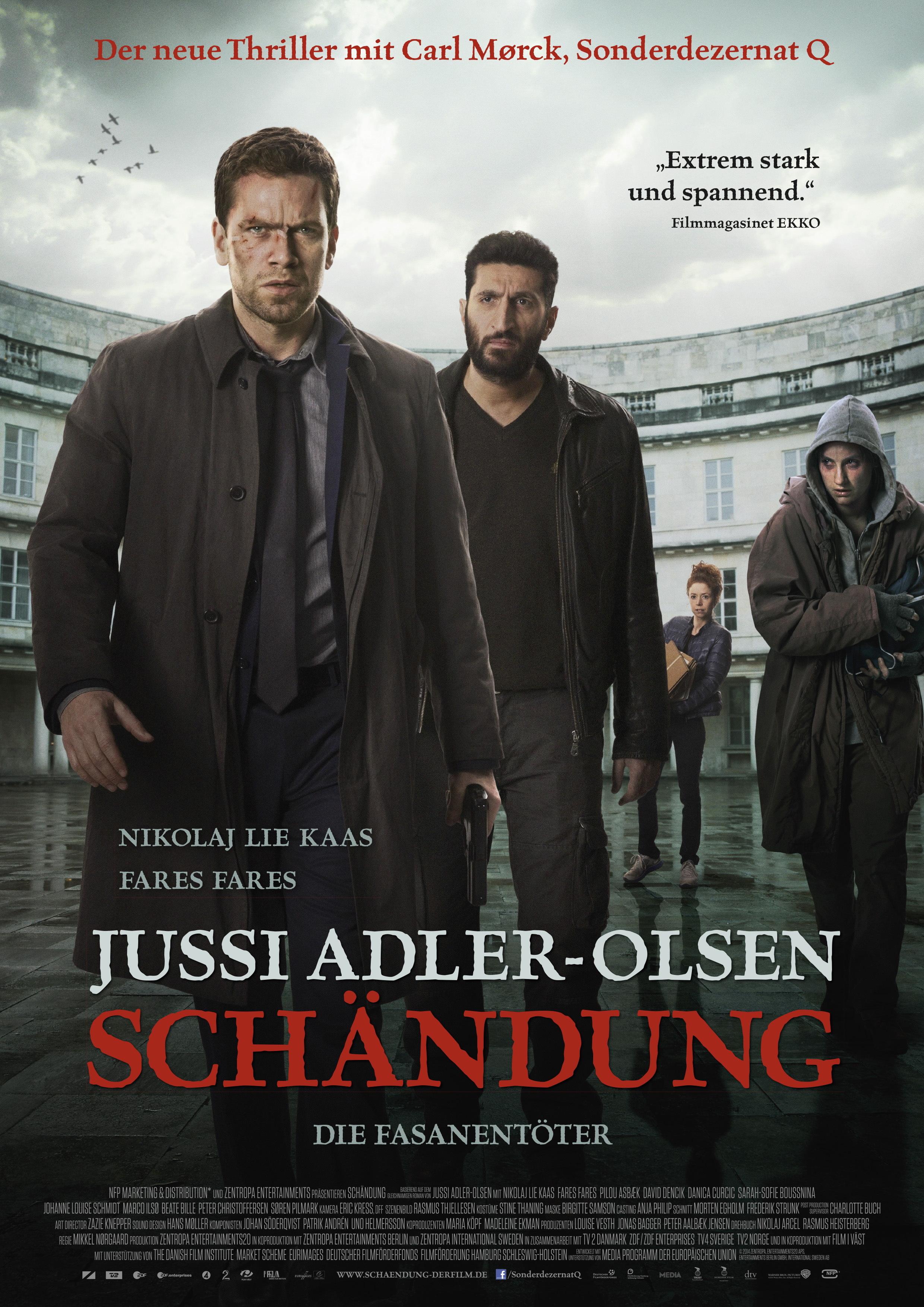 Постер (1) к фильму Мистериум. Охотники на фазанов (Fasandræberne, 2014)