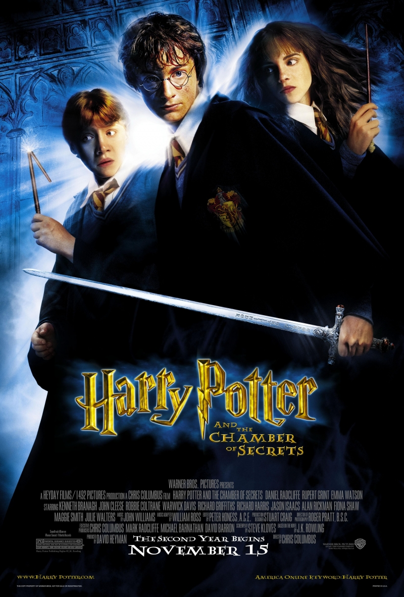 a review of harry potter and the chamber of secrets Harry potter and the chamber of secrets the second book in the jk rowling series about a young, orphan wizard named harry potter begins shortly after his.