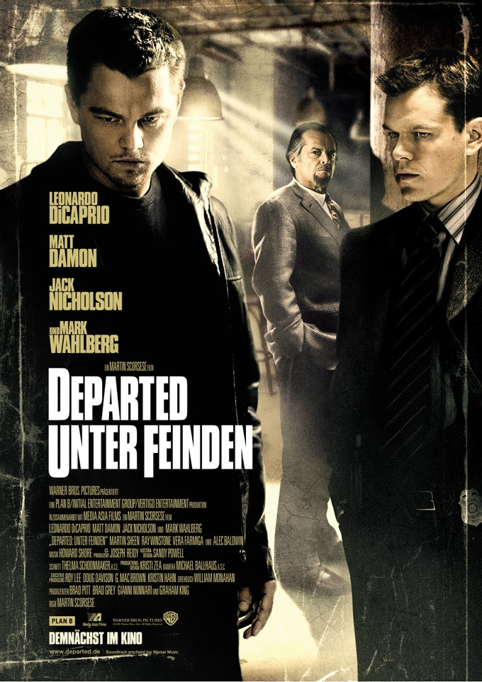 """the movie departed Films the departed eric wills reveals how nietzschean morality is displayed in martin scorsese's oscar-winning movie """"we are all on the way out act accordingly"""" in his recent film the departed, martin scorsese presents us with a conflict between martin sheen's conventionally moral policeman and jack nicholson's amoral gangster."""