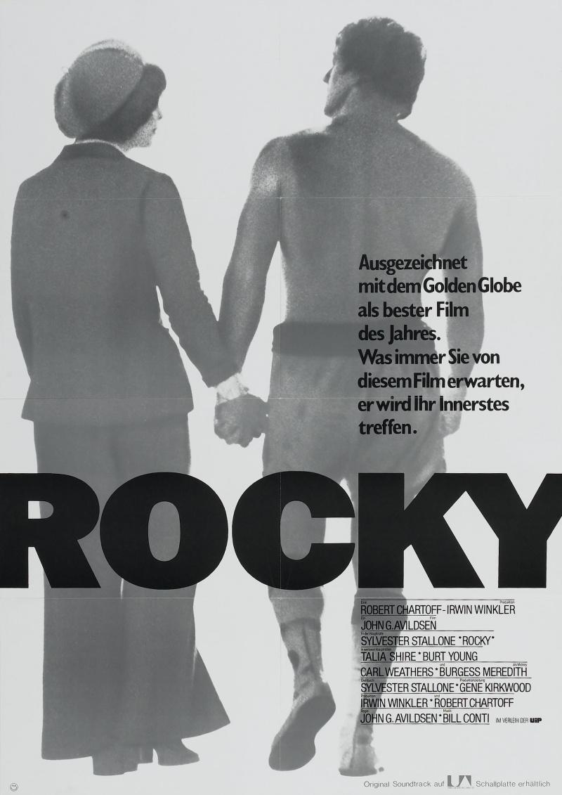 Rocky movie poster ebay