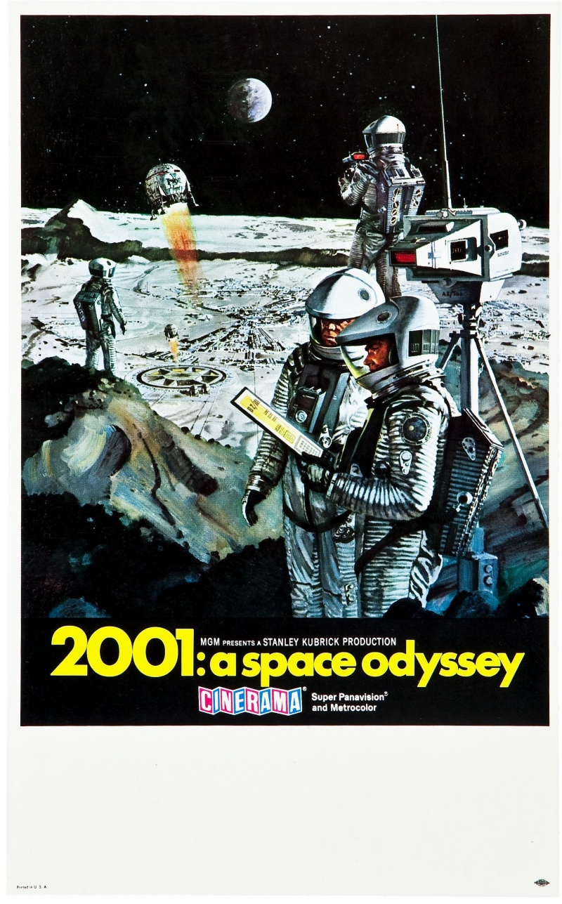 Movie poster 2001 space odyssey