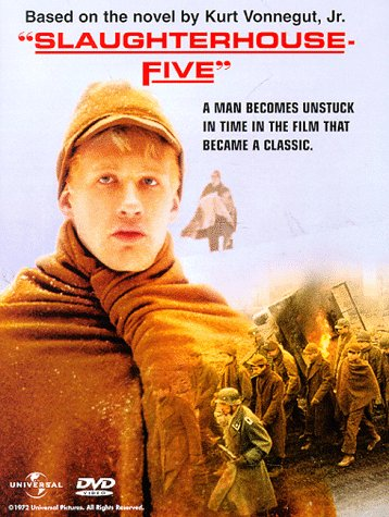 slaughterhouse five the novel and the movie Slaughterhouse-five is a 1972 science fiction film based on kurt vonnegut's novel of the same name about a writer who tells a story in random order of how he was a soldier in world war ii and was abducted by aliens.