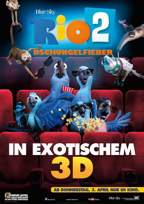 Rio 2 movie poster
