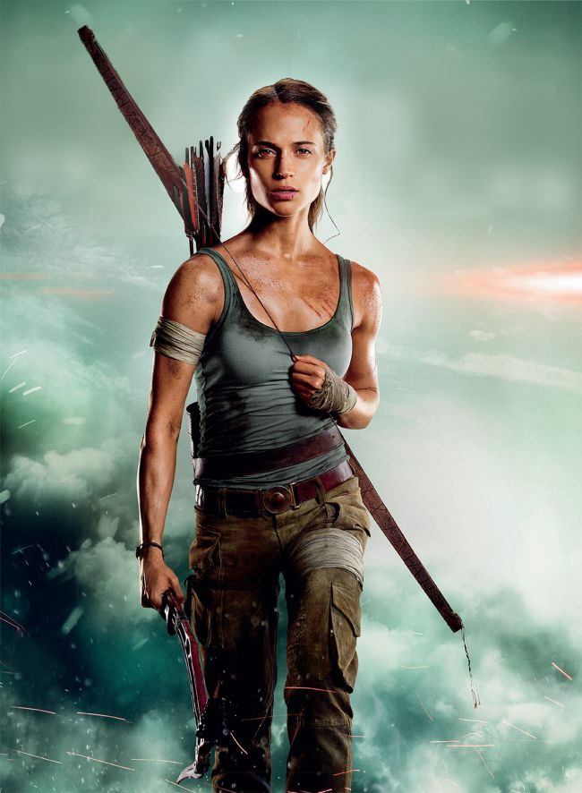 New tomb raider movie poster