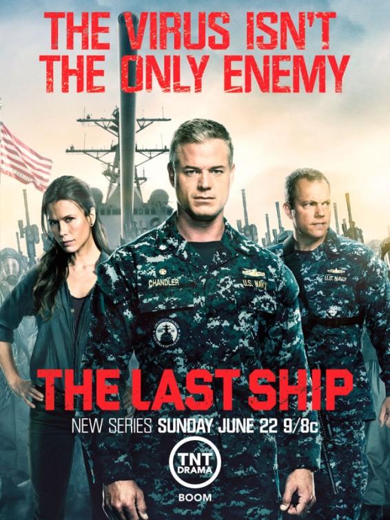 Постер (2) к фильму Последний корабль (The Last Ship, 2014)