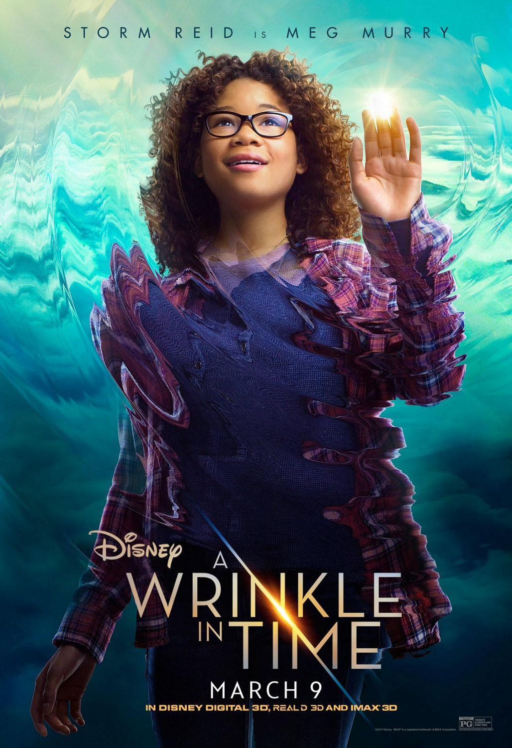 Wrinkle in time movie poster