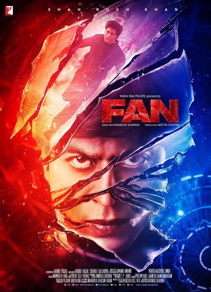 SRK Fan Movie Poster is Out - Entertainment