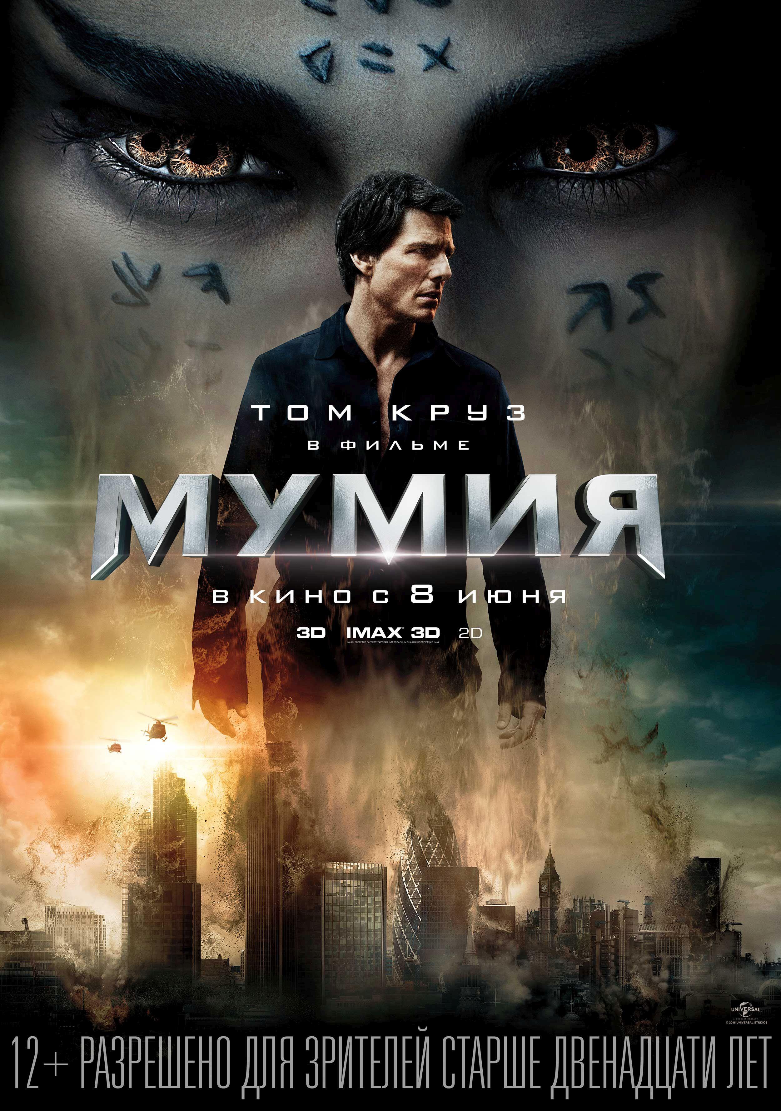 Возрастное ограничение фильма мумия 2018