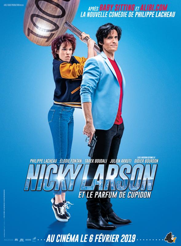постер 2 к фильму плейбой под прикрытием Nicky Larson Et Le