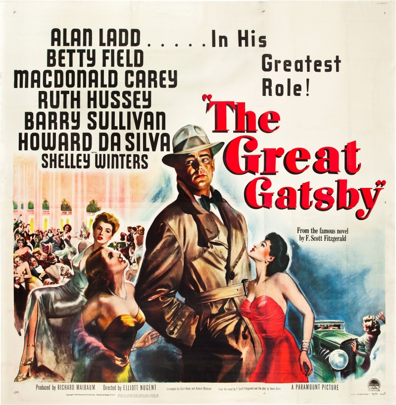 The Great Gatsby 1949 Movie Poster