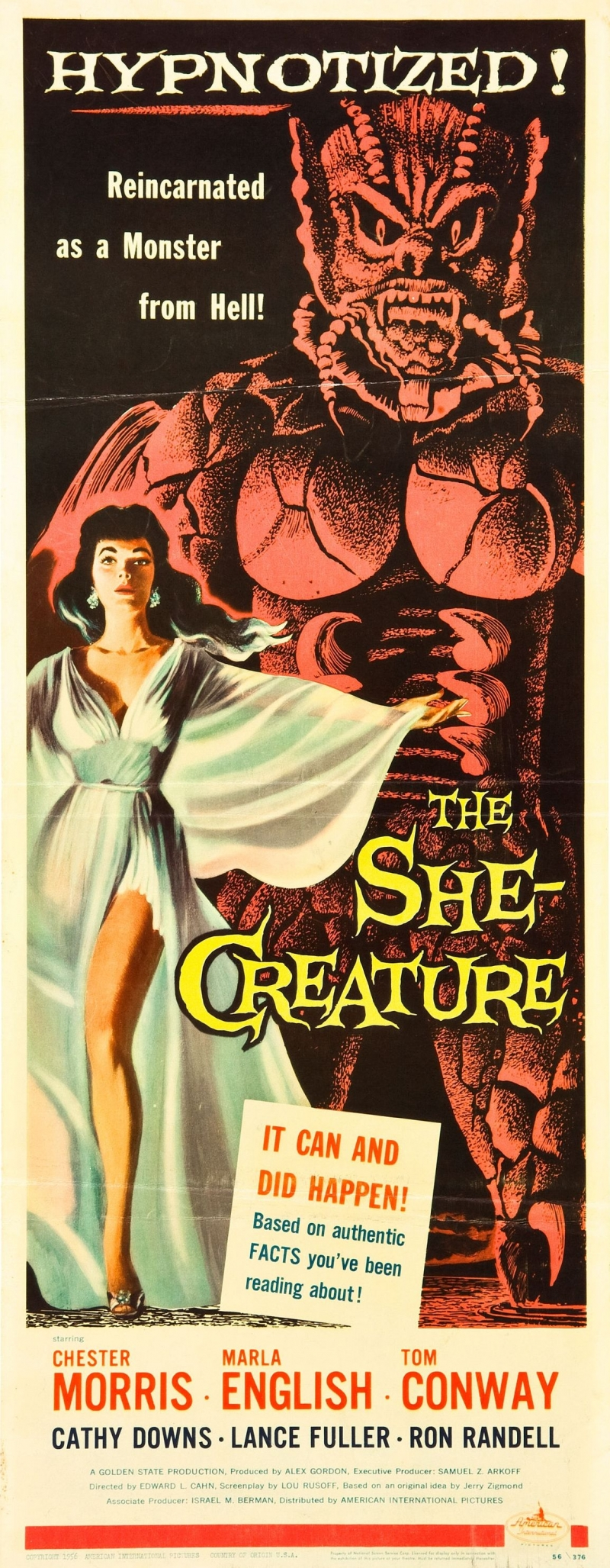 Monster movie posters