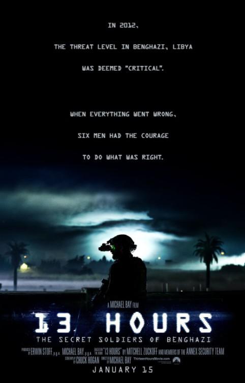«13 Часов: Тайные Солдаты Бенгази» — 2016