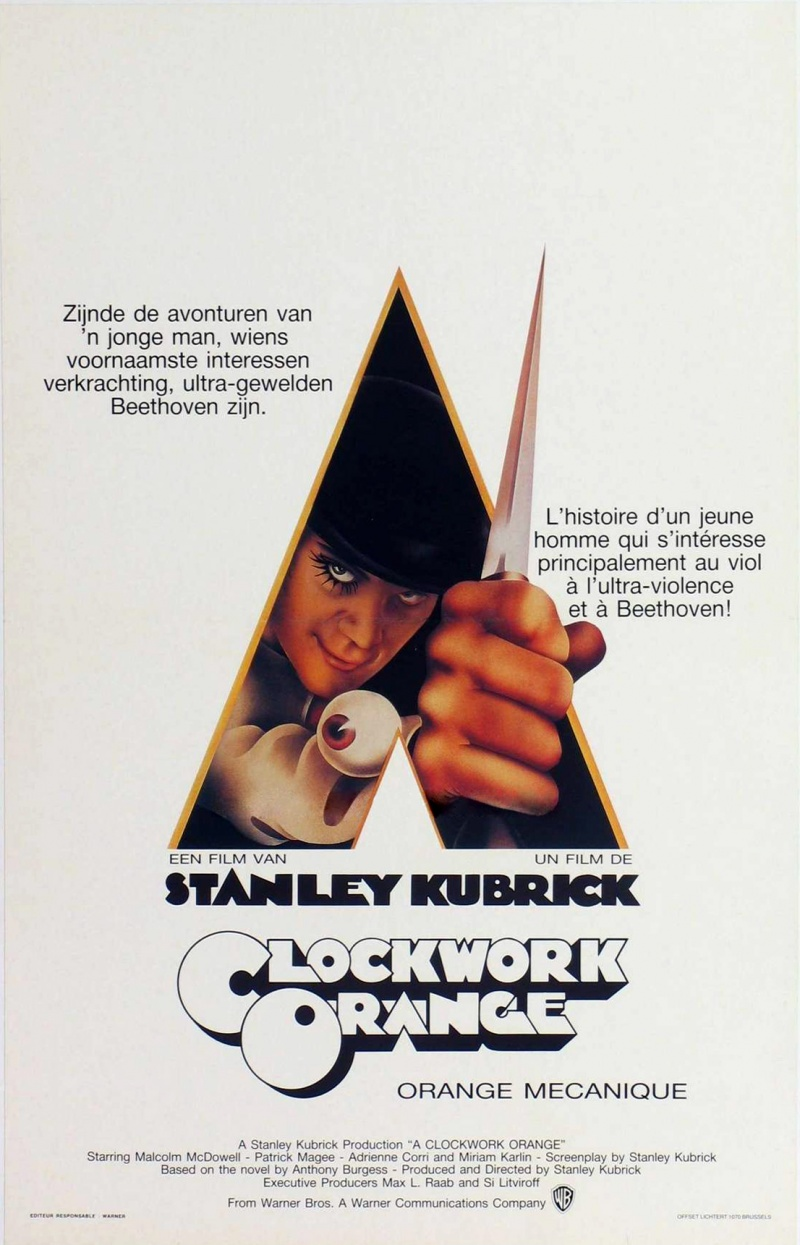 an analysis of the character in the novel a clockwork orange