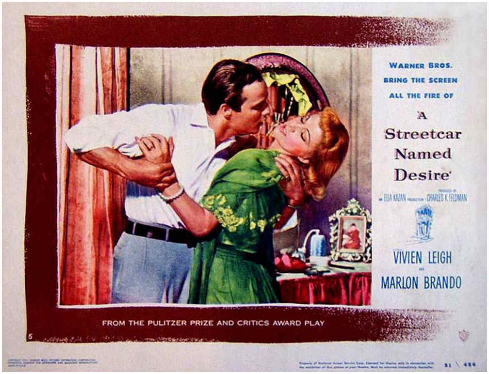 themes in a streetcar named desire A streetcar named desire is a 1951 american drama film the play's themes were controversial, causing the screenplay to be modified to comply with the hollywood.