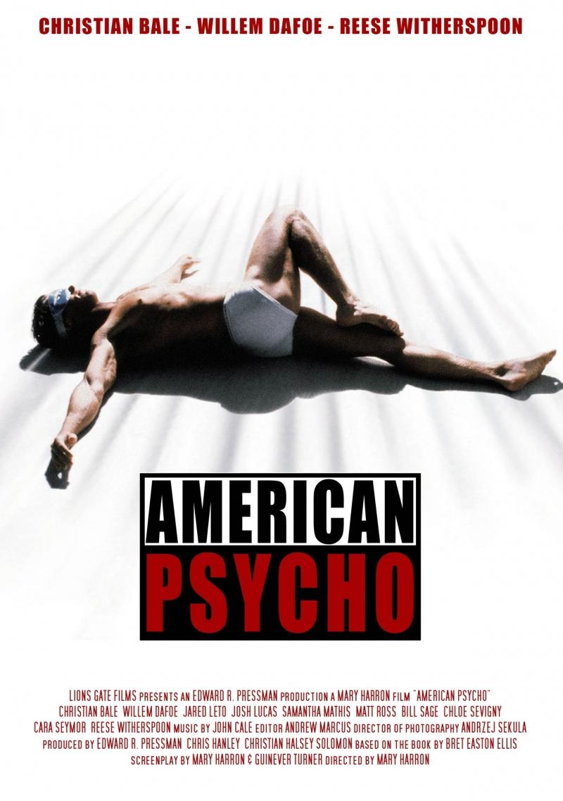 переоценить кино американский психопат постеры остановить