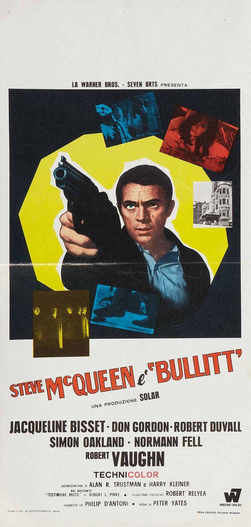 «Детектив Буллитт» — 1968