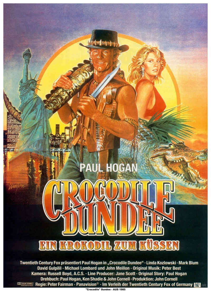 Крокодил Данди – Эротические Сцены
