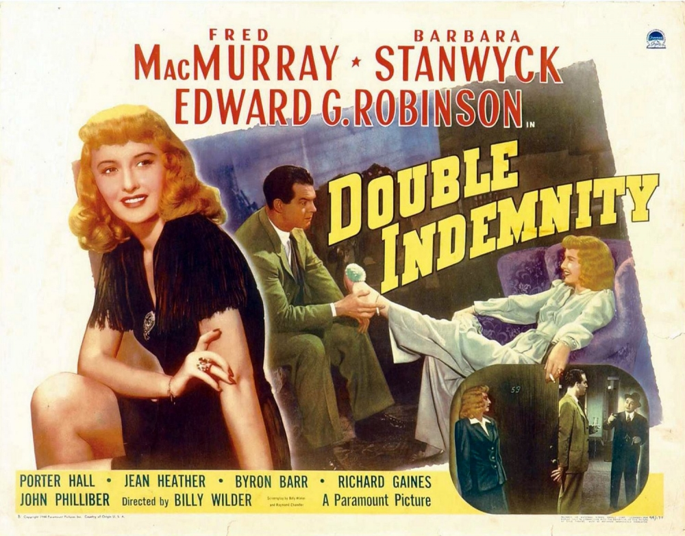 the role of a male victim in double indemnity a movie Film court feature on double indemnity and that her male dupe , as neff adopts the terse narrative style of an office memo to reveal his role in the.