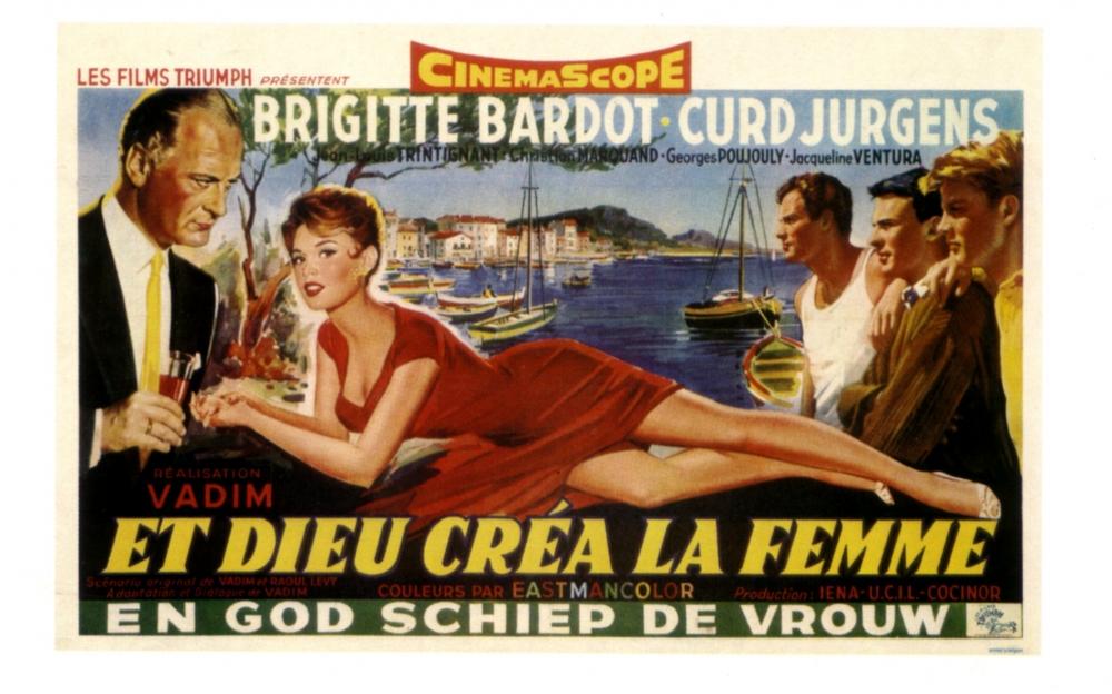 И бог создал женщину (et dieu cr233a la femme) - жюльетт харди сирота, она живет в