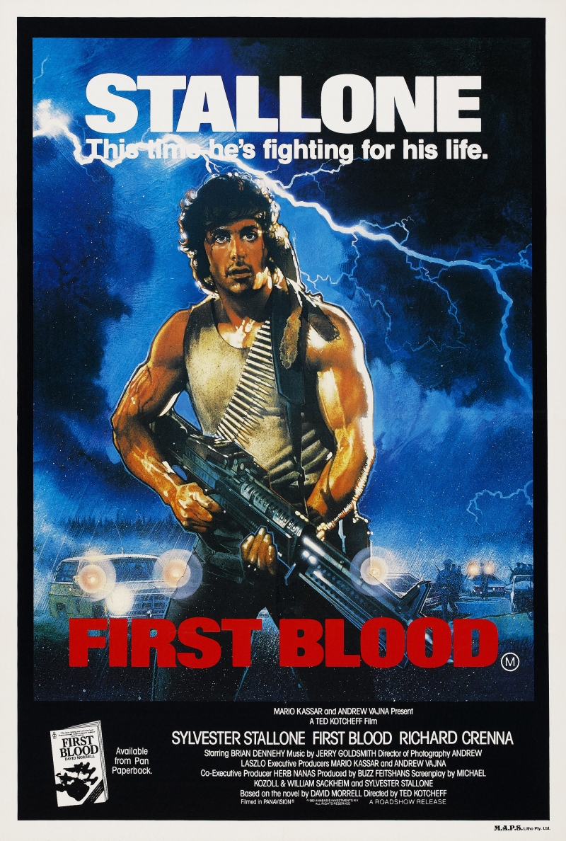 an analysis of the film first blood by ted kotchef What's your nex t favori t e movie ted kotcheff 1931 - prev next overview: movies: blu‑ray: dvd: uv: itunes first blood 1982 72 1 split image 1982 7.