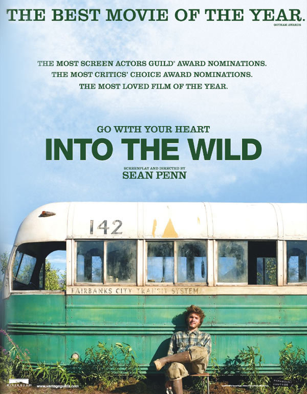 the ideals of transcendentalism portrayed in into the wild a biographical film by sean penn Whilst keeping the ideals more or less intact, penn and writer alan feel like an arthur penn film ventures into filmmaking, penn has once.