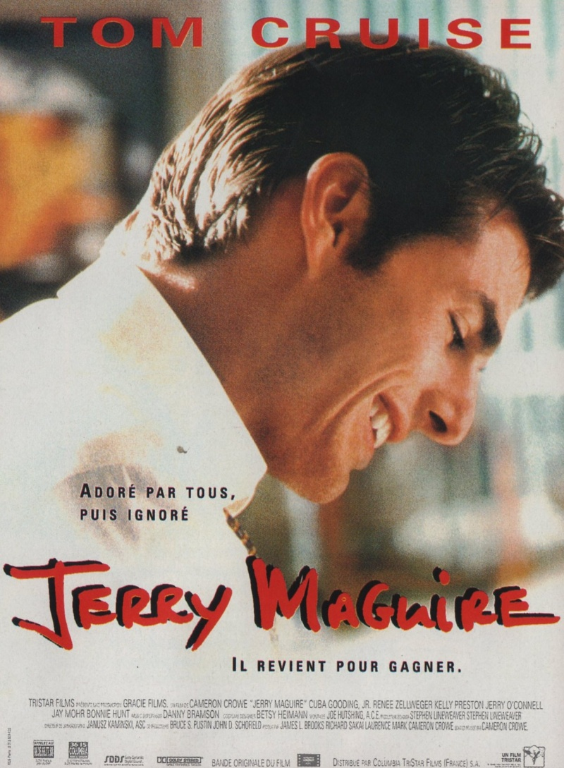 """jerry maguire essay There are a couple of moments in """"jerry maguire"""" when you want to hug yourself with delight one comes when a young woman stands up in an office where a man has."""