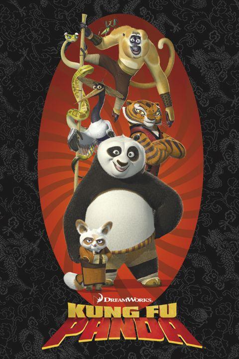 Кадры из фильма мультик кунг фу панда 3 в хорошем качестве смотреть