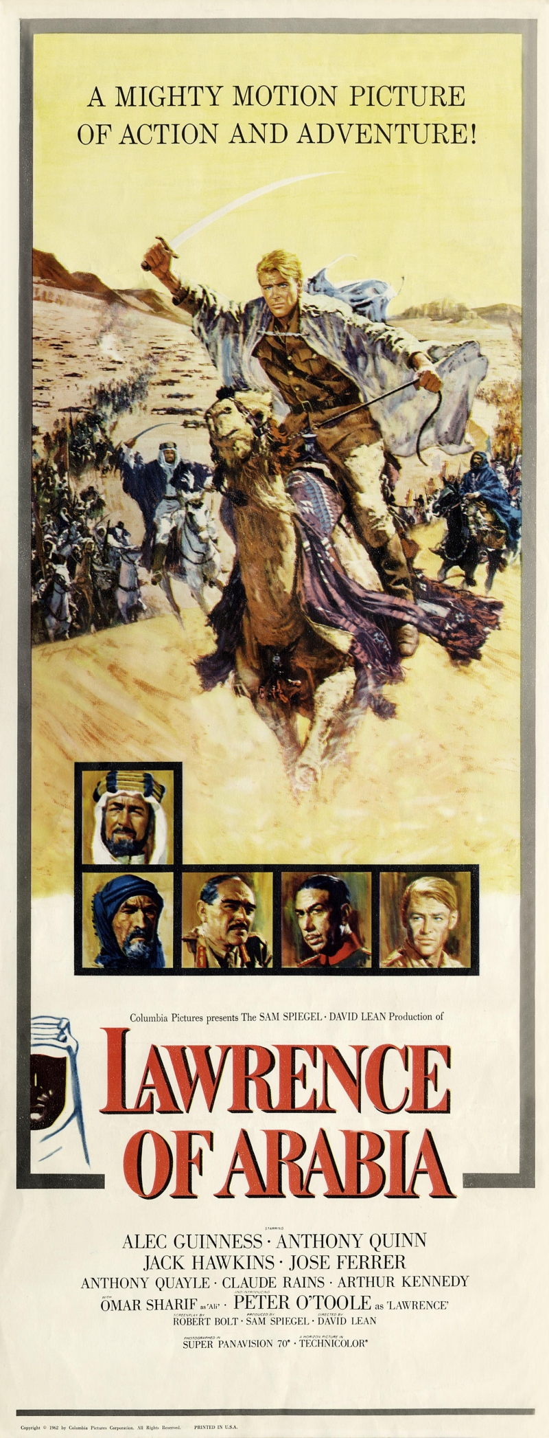 review of lawrence of arabia essay Review of lawrence of arabia essays the movie lawrence of arabia had many interesting aspects about it and, according to sources, is very historically accurate.